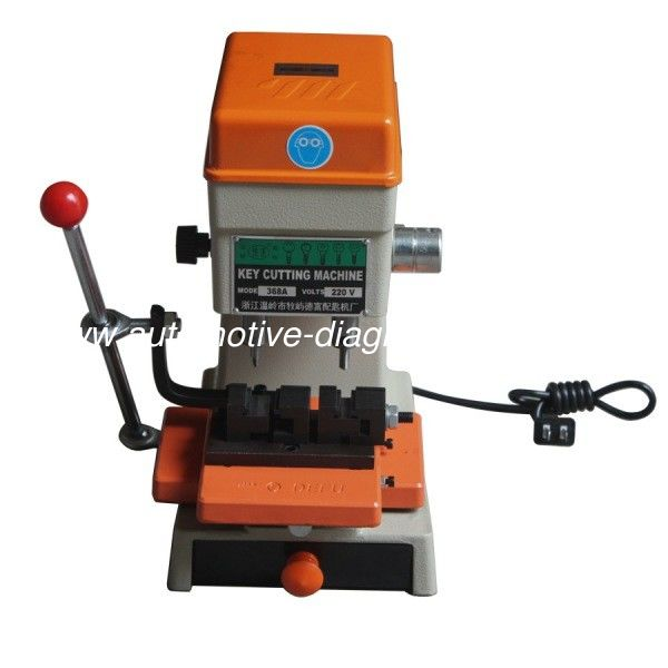 368A Key Cutting Machine Locksmith Tools Portable Key Machine 200W