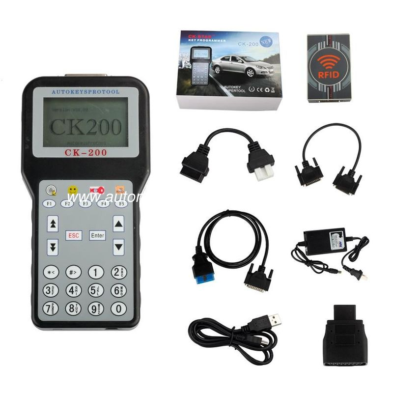 Newest Version V50.01 Auto Key Programmer CK-200 CK200 Car Locksmith Tools No Token Limited